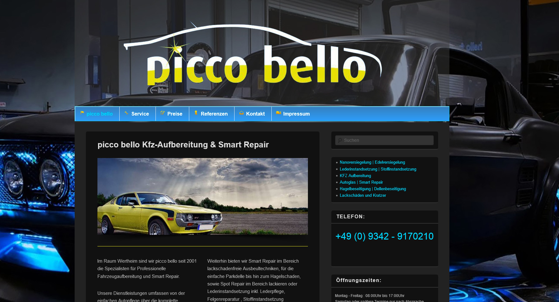 picco bello kfz aufbereitung smart repair picco bello. Black Bedroom Furniture Sets. Home Design Ideas